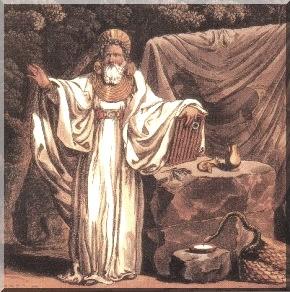 Amergin, el druida que se conjuró a sí mismo