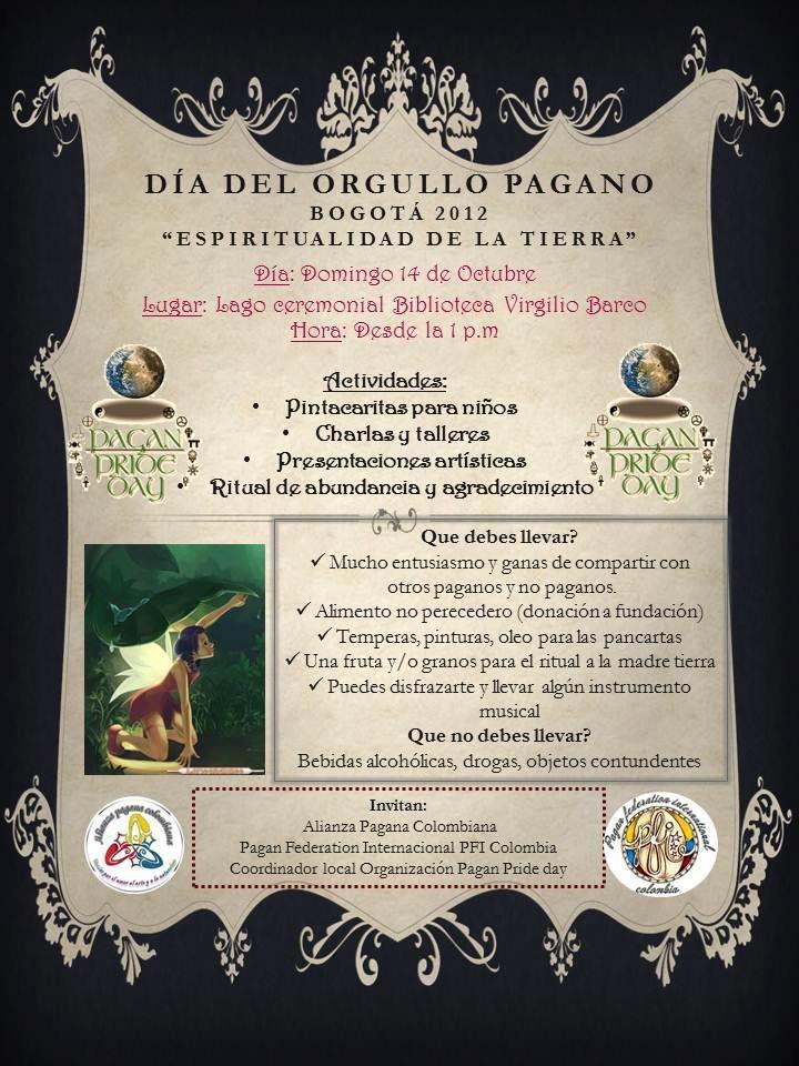 Orgullo pagano en Bogotá
